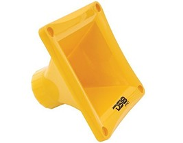 DS18 PRO-H44 Yellow Universal Square Driver Tweeter Horn Body Easy Twist... - $9.58