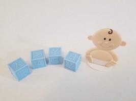 Baby Shower Cake Topper For Boy - $14.85