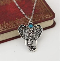 Oriental Elephant Face Necklace >> We Combine Shipping (4402) - $3.76