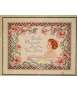 Vintage Dimensions Cross Stitch Kit 1991 Bathro... - $9.95