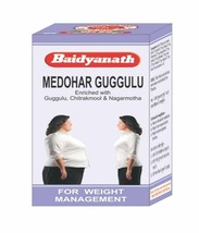 Baidyanath Medohar Guggulu / Guggul Herbal 120 tablets of pack  - $9.82