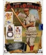 2011 Topps Allen and Ginter Baseball Hobby Box Sealed - $94.99