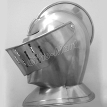 European Closed Helmet, Wearable Medieval Knight Armor Gladiator Knight Maximus  - $79.88