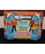 DC Universe Young Justice Aquaman & Aqualad Figures New In The Package - $29.99
