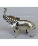 Elephant silver miniature - $61.00