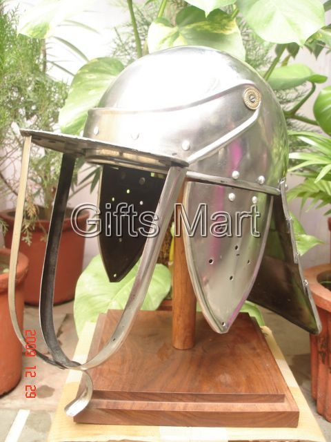 English Civil War Lobster Tailed Helmet Fully Wearable Perfect For Re-enactment
