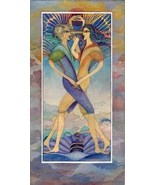 Artistic gemini zodiac sign poster - $18.00