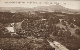 Sir Walter Scott's favourite view from Bemersyde Hill - $5.00