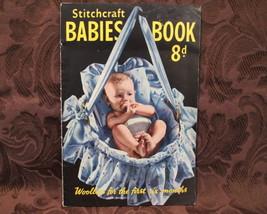 Vintage Stitchcraft Baby Knitting Crocheting Patterns BABIES 1 - 6 Month... - $5.99