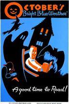 October sbrightblueweatheragoodtimetoreadbooks 1936 wpapostersmall thumb200