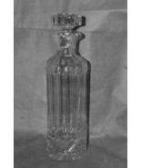 Cut Glass Tall Decanter With Pouring Lip - $275.00