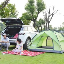 Automatic Camping Large Tent 3-4 People Outdoor Waterproof Hiking Quick Assembly - $127.95