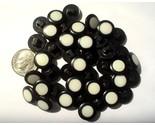 Auction 1047 button modern  black 3 8 shank thumb155 crop