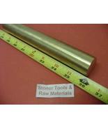 "JumpingBolt 1-1/8"" 1.125"" Brass C360 Round Bar Rod 36"" Length H02 Solid ... - $171.76"