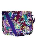 Vera Bradley Messenger Bag Heather - $176.22
