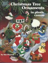 Christmas Tree Ornaments Plastic Canvas Patterns~26 Designs - $4.99