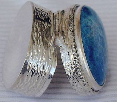Decorative silver box  SR10
