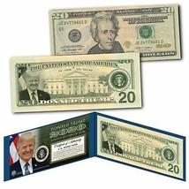 DONALD TRUMP 2020 45th President of the United States Genuine $20 Bill L... - $42.08