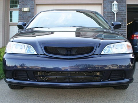 Mesh Grill Grille Fits JDM Acura 3.2 TL Honda Inspire 99 00 01 1999 2000 2001