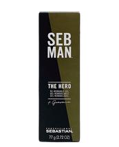 Sebastian Seb Man the Hero Re-Workable Gel, 2.72 Oz