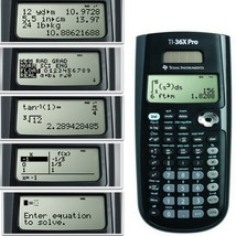 Scientific Fraction Calculator Graphing Battery Solar Power - $50.61