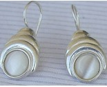White moon earrings thumb155 crop