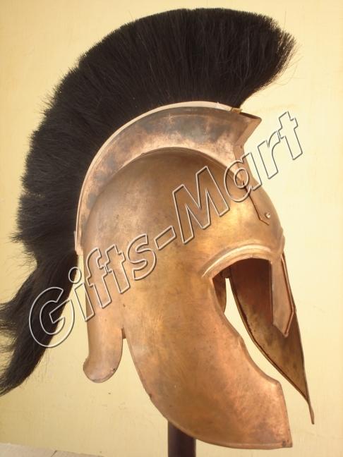 KORINTHER HELM Ritter Rüstung Larp Ritterhelm Troja Troy Trozan Armour Helmet