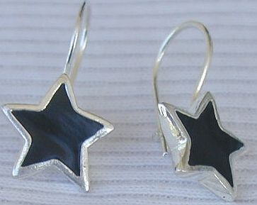 Primary image for Black  earrings stars