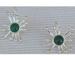 Green prickle earrings 1 thumb155 crop