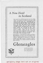 1925 Gleneagles New Hotel Scotland Vintage Print Ad - $3.50