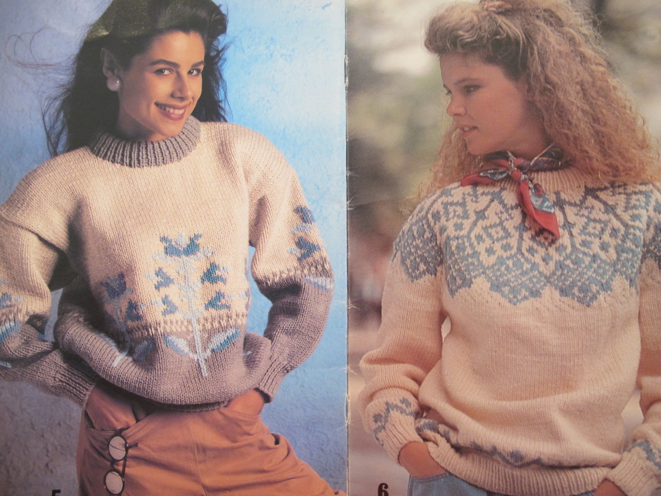 Vintage Patons Knitting Patterns Cardigan Pullovers Cardigans Sweaters ADULTS