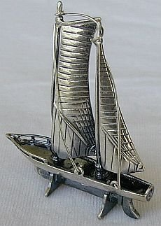 Beautiful boat miniature