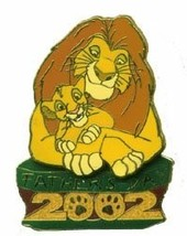 DISNEY Lion King Mufasa & Simba LE pin/PINS - $29.02