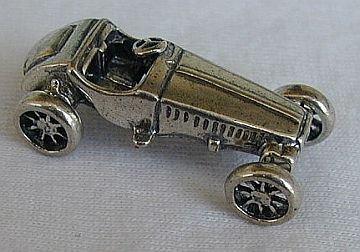 Antique racing car miniature