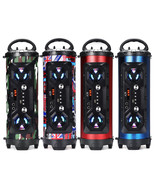 A28 Portable bluetooth Super Bass Speaker Phone Holder TF FM AUX-in Outd... - $53.99