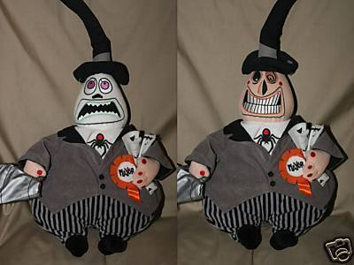Primary image for Disney Nightmare Before Christmas Mayor plush Bean Bag