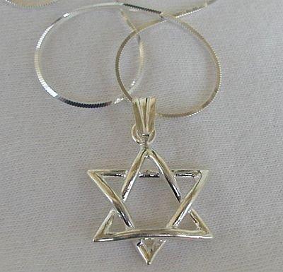 My mini david star pendant