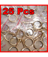 MAGNIFYING LENS BRASS KEY CHAIN NAUTICAL GIFT LOT OF 25 Wholesale Price ... - $50.61