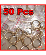 MAGNIFYING LENS BRASS KEY CHAIN NAUTICAL GIFT LOT OF 50 Wholesale Price ... - $94.49
