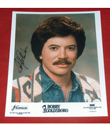 Singing Legend BOBBY GOLDSBORO Signed Autograph William Morris Agency 8X... - $24.73