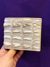 Wallet Crocodile Leather Bifold Men Genuine S Alligator Bi Fold Id Card ... - $97.99