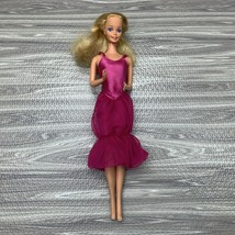 Vintage Barbie Doll Clone Superstar Era Bubble Dress Pink - $15.99