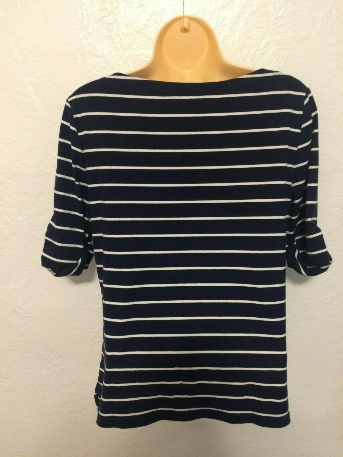 Ralph Lauren Womens size Large striped top