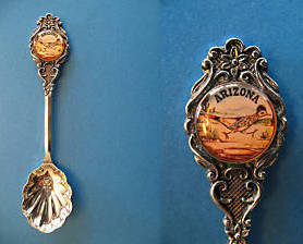 Primary image for ARIZONA Souvenir Collector Spoon Collectible ROADRUNNER State Bird