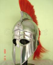 Medieval Greek Corinthian Helmet Roman Armor Helmets NR, Fancy Halloween... - $35.34