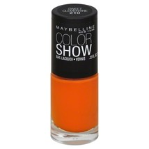 Maybelline Color Show Nail Lacquer, Sweet Clementine, 0.23 fl oz - $6.99