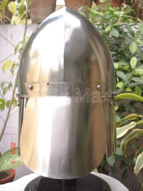 Medieval Helmet Knight Armor  Ancient Collectible Reenactment Military Armor Sca
