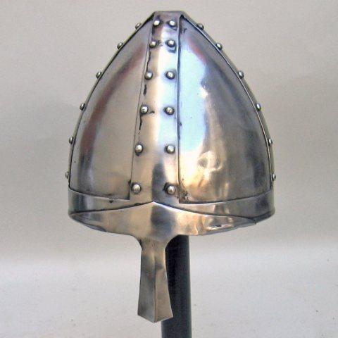 Medieval Norman Helmet Collectables Ancient Helmets, (Militaria Crusade Armor)