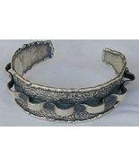 Silver pitulim bangle - $84.00