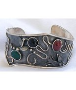 Red,black and green bangle - $98.00